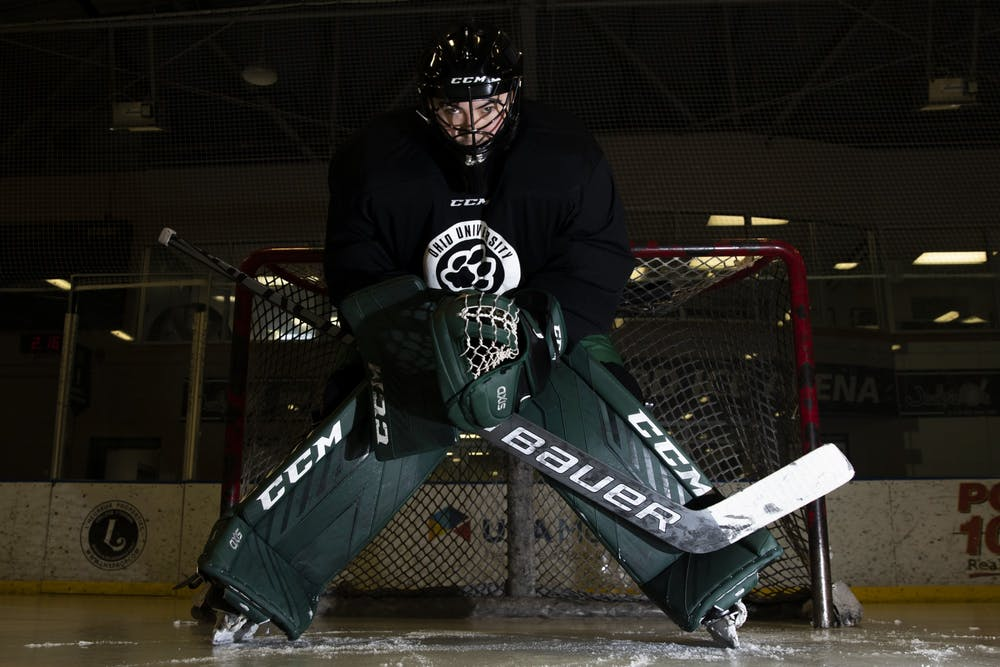 Hockey: Max Karlenzig is looking forward to building more fun memories at Ohio