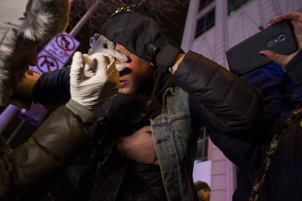Photoblog: Covering protests