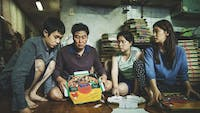Bong Joon-ho's 'Parasite' is a riveting thriller. (Photo provided via @IndieWire on Twitter)