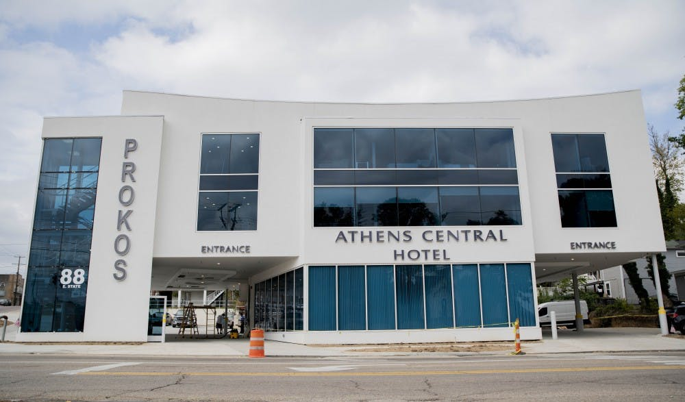"Athens Central Hotel set to open ""very soon"""