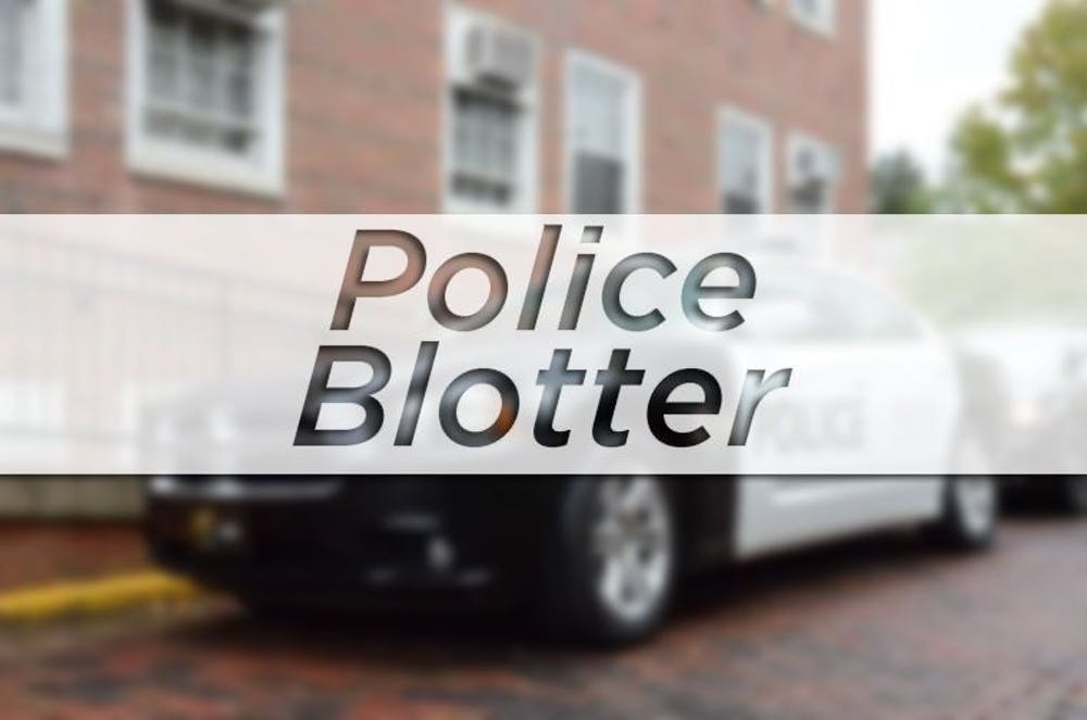 Blotter: Police called for open house door; employee misusing company credit card