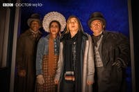 Despite excellent performances, Sunday's episode of 'Doctor Who' falls flat. (Photo provided via @bbcdoctorwho on Twitter)
