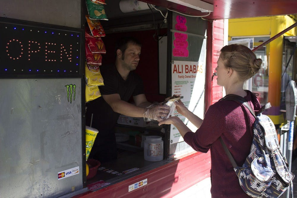 Food trucks around Athens create alternative eating options