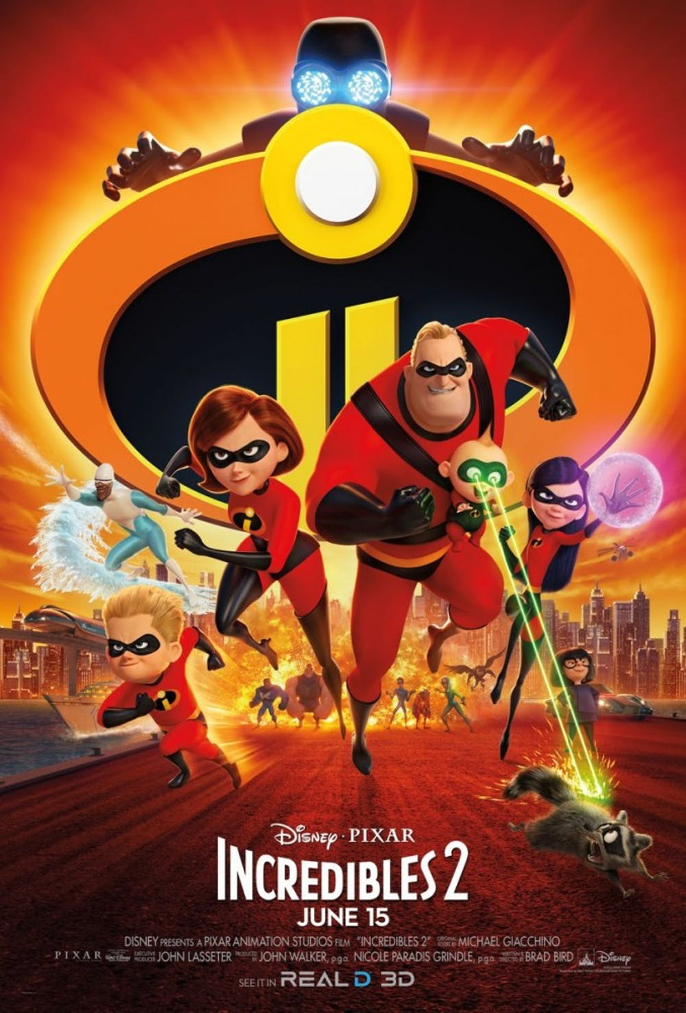 Film Review: 'Incredibles 2' is a superhero movie worth seeing