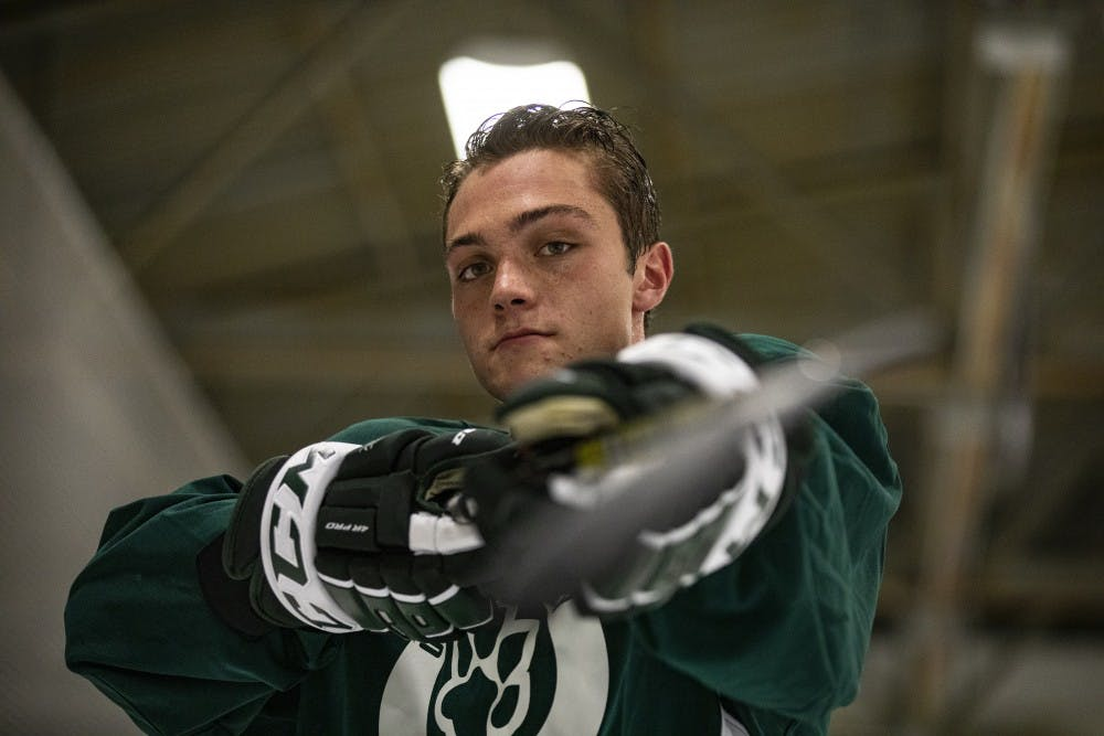 Hockey: Drew Magyar hopes to expand in bigger role this season