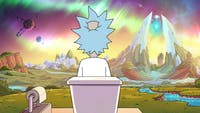 "'Rick and Morty' delves into more serious themes during ""The Old Man and the Seat."" (Photo provided via @RickandMorty on Twitter)"