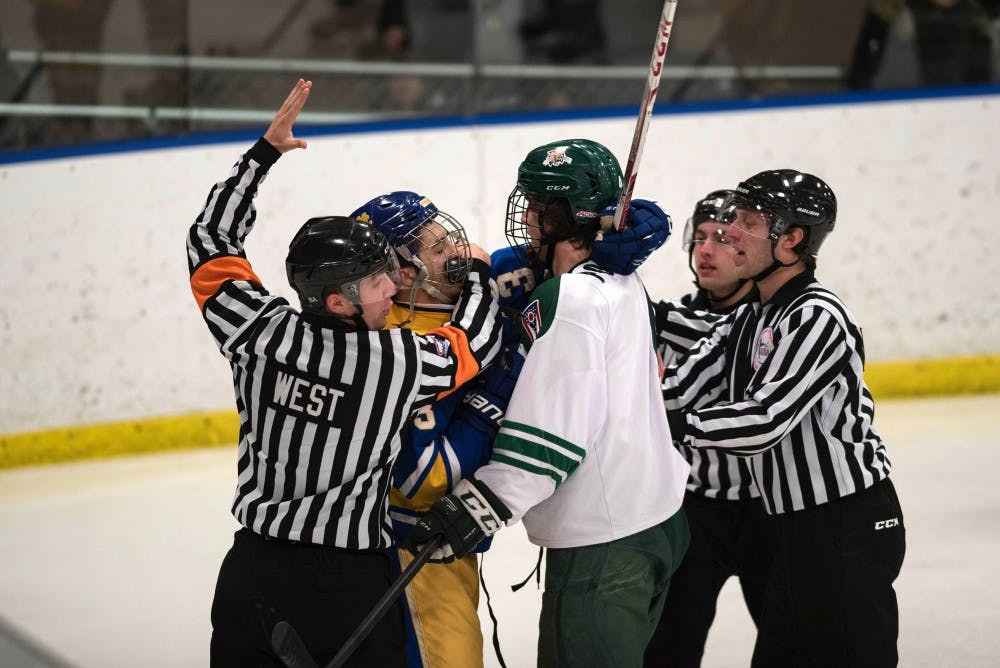 Hockey: Ohio flexes its offensive prowess in sweep over Pittsburgh