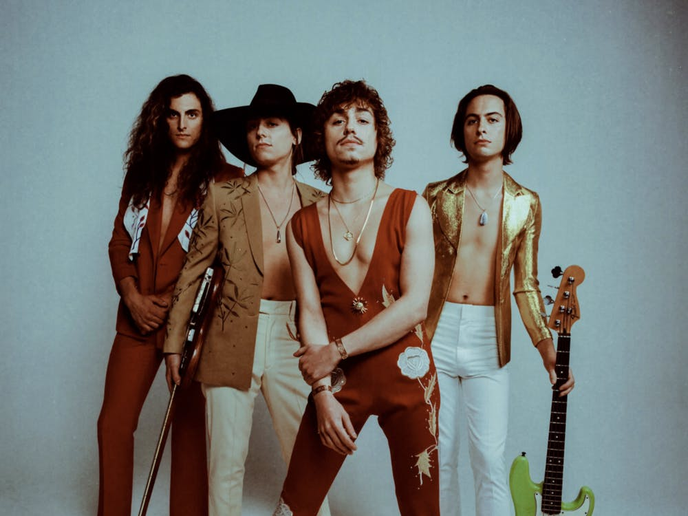 Fleet was able to show some great tracks but the album needed to be cohesive, not uniform (Photo provided by @GretaVanFleet via Twitter).