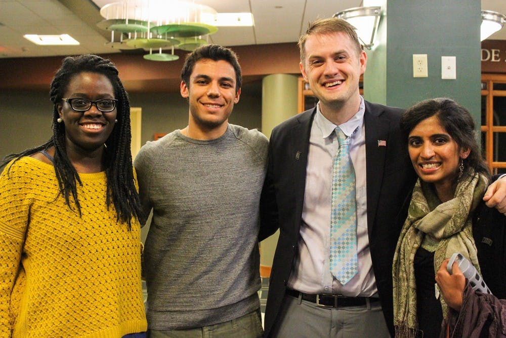 Graduate Student Senate: Next president to look beyond campus, embrace diversity