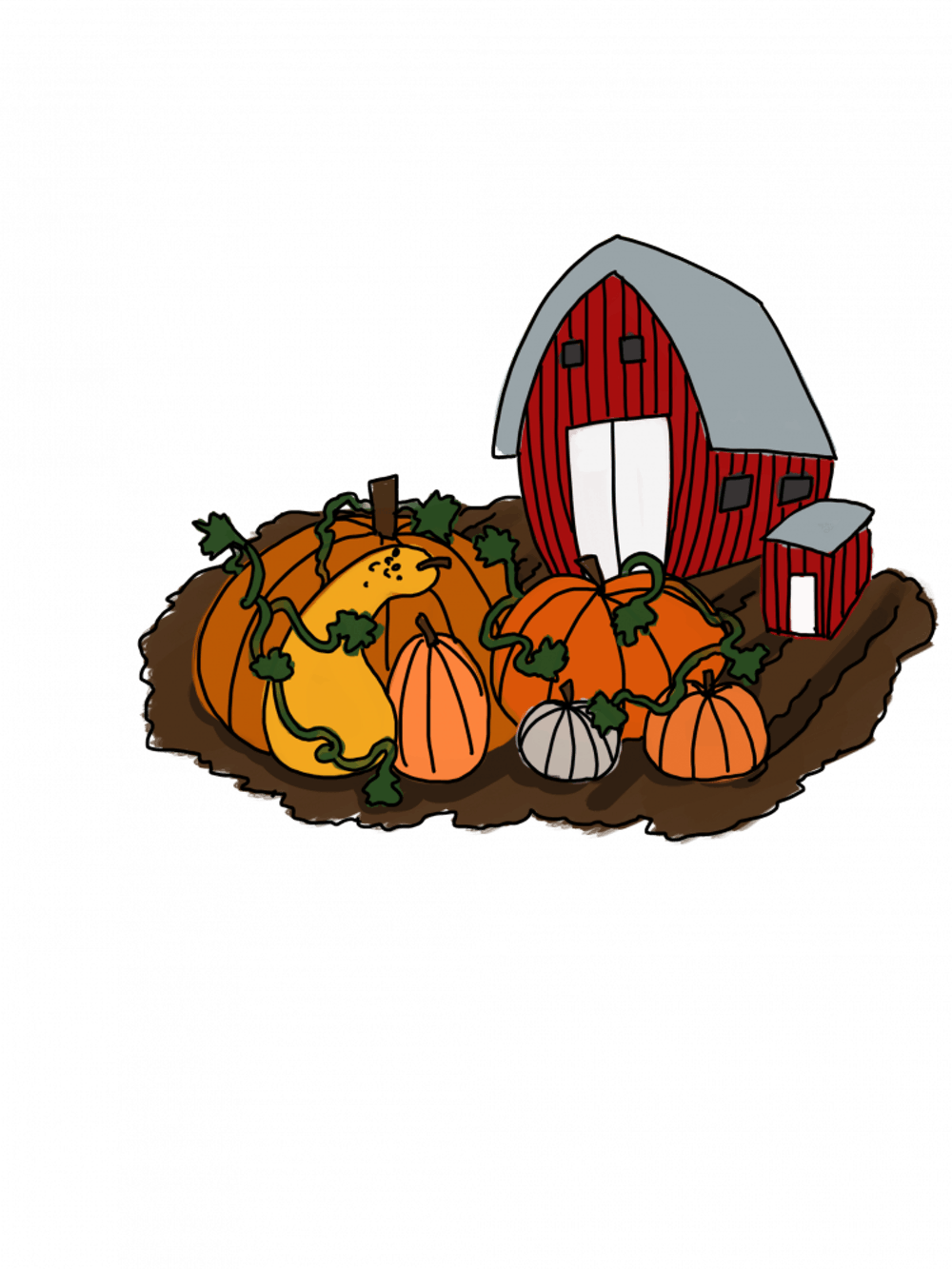 4 pumpkin patches to visit near Athens this October