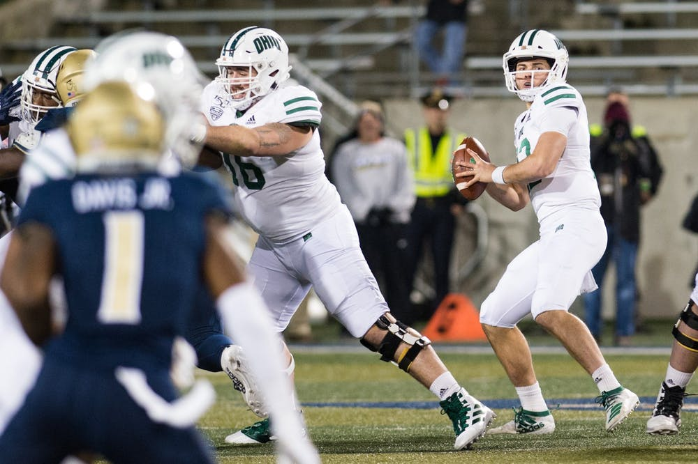 Football: Nathan Rourke ends Ohio's regular season, possible college career with dominant display