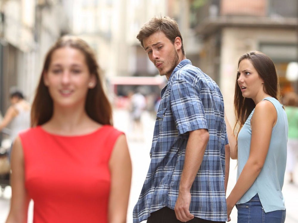 Meme of the Month: Distracted Boyfriend