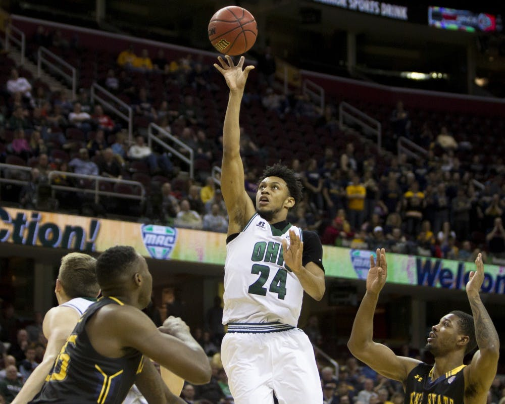 Men's Basketball: Ohio easily defeats Mount St. Mary's despite lack of depth
