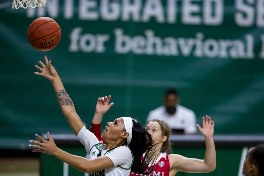Women's Basketball: Cece Hooks puts up triple-double in regular season finale