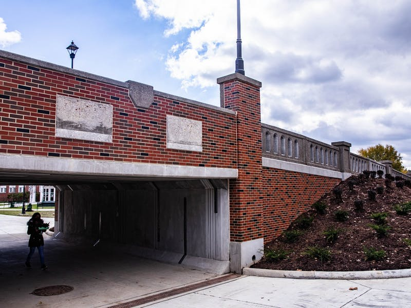 The Richland Avenue pedestrian passageway, after months of construction, allows anyone to go through without holding up traffic on Friday, Oct. 30, 2020.