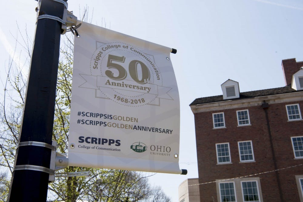 Scripps College of Communication focused on service for its 50th anniversary