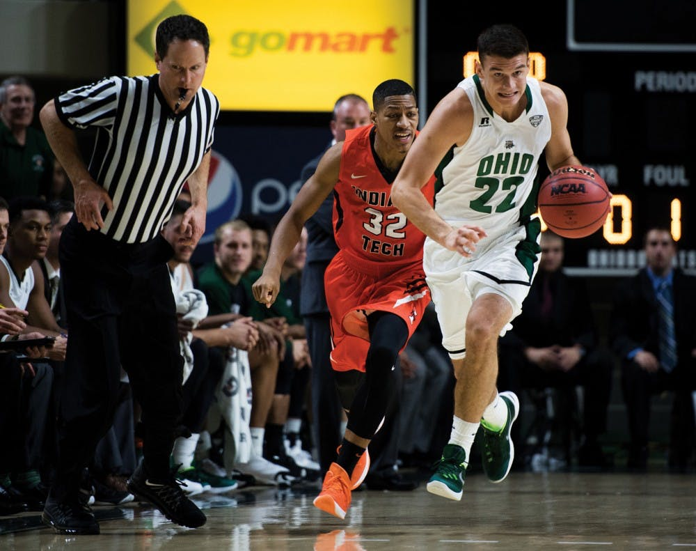 Ohio's Gavin Block only cares about one stat: the win column