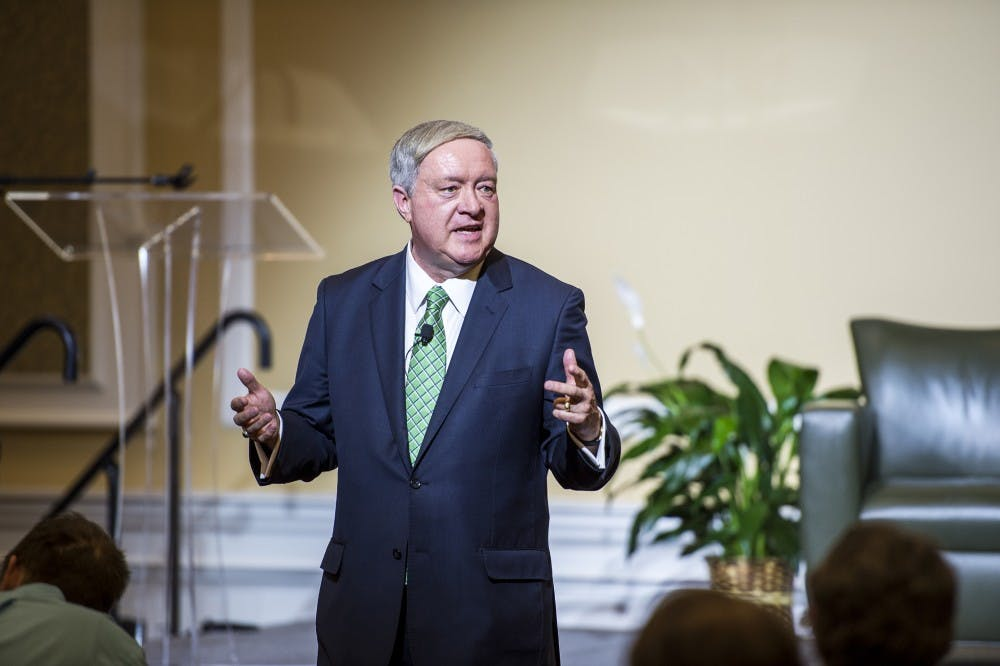 Duane Nellis takes office as 21st President of Ohio University
