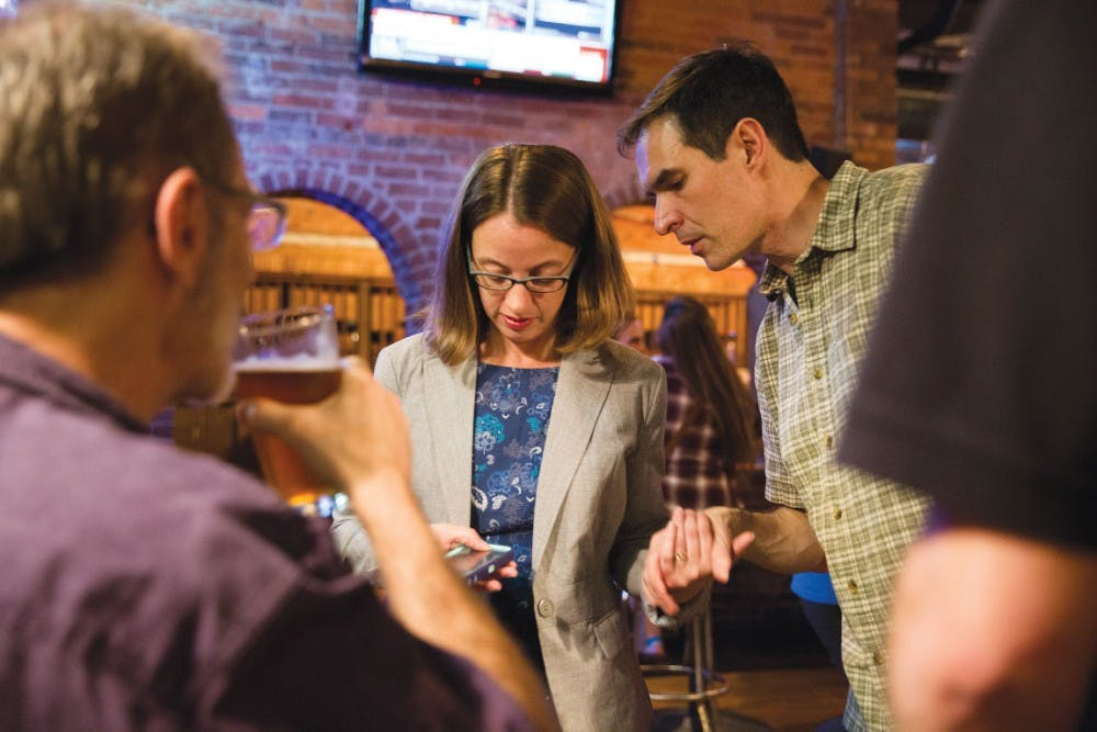 Local bars provide important gathering places for Democrats and Republicans