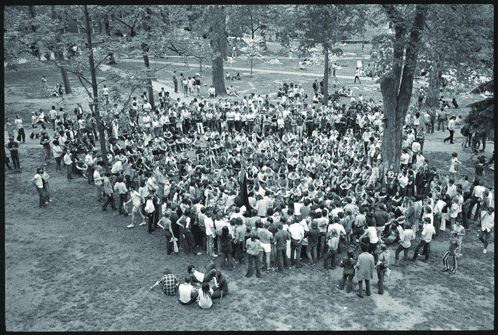 Alumni compare 1970 and 2020 closures of OU