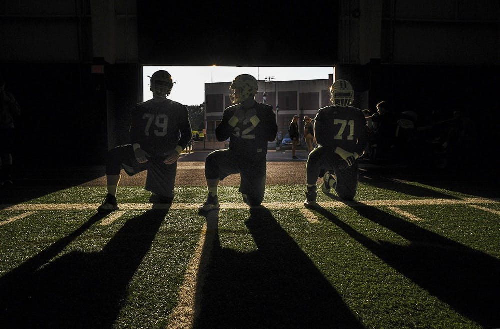 Football: The offensive line is unit that carries them all