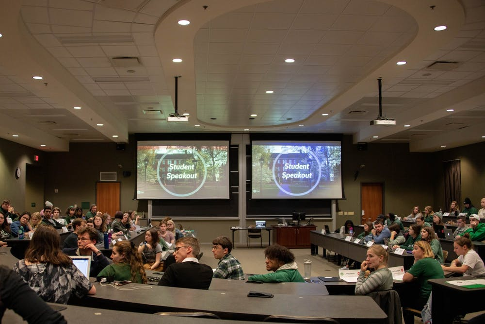 Student Senate: Provost presents plans for empowering university students