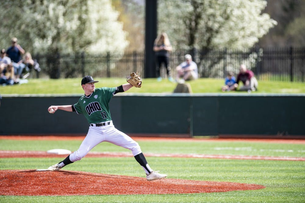 Baseball: Ogg dazzles against Kent State, saves Ohio from sweep in 1-0 win