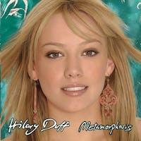 Duff's debut album 'Metamorphosis' was released Aug. 26, 2003. (Photo via @ImLizzieM on Twitter)