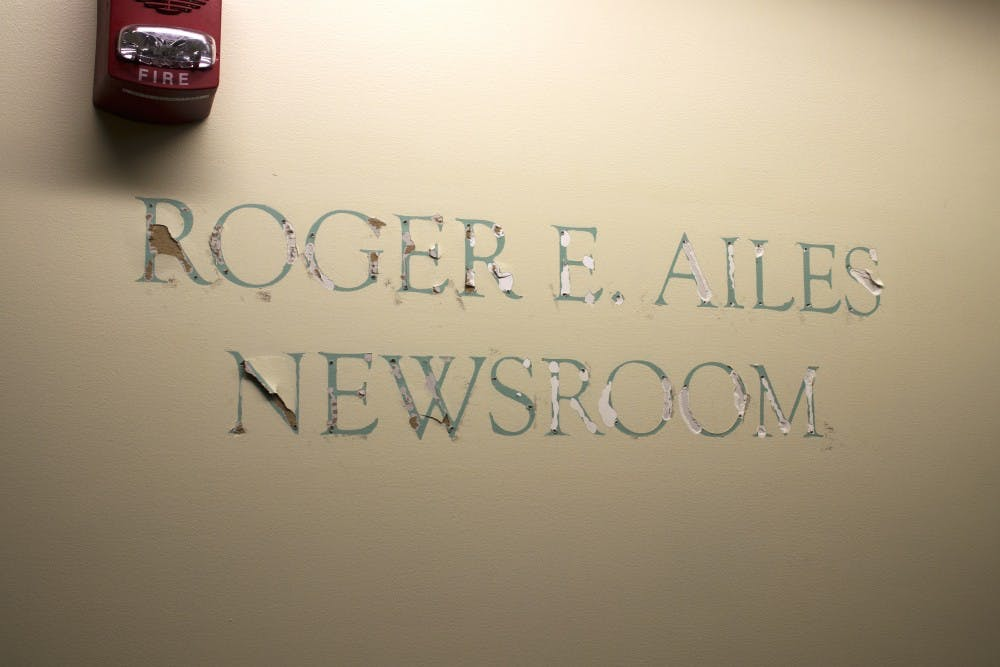 Roger Ailes' donation to be returned; plaque removed from WOUB newsroom