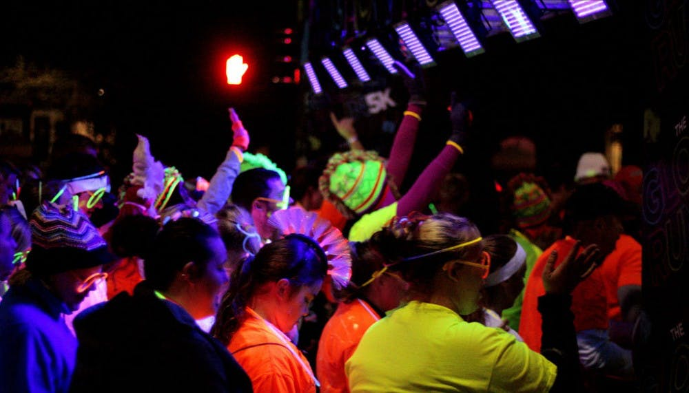 A glow in the dark 5K will take place Sunday