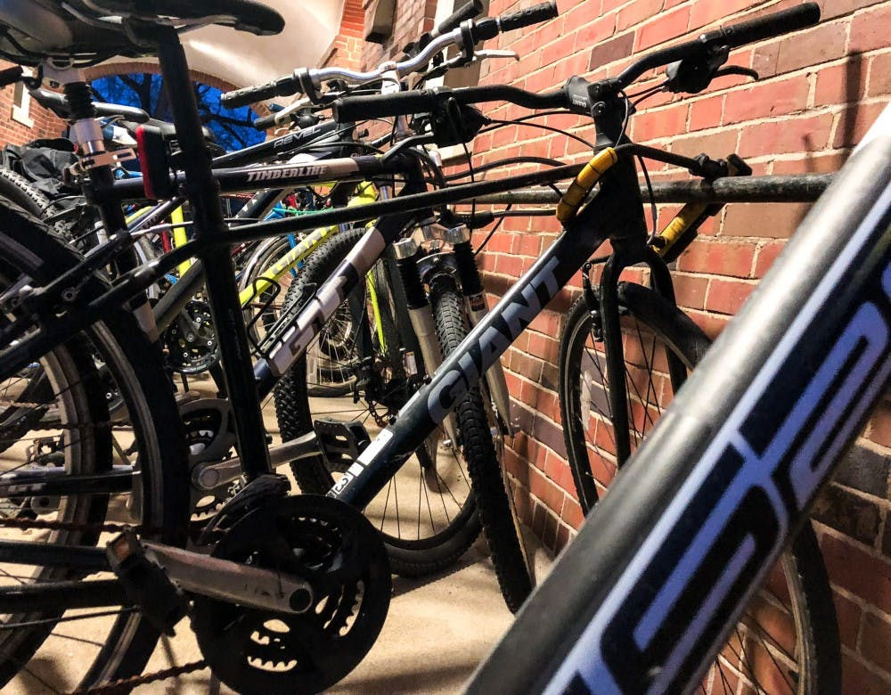 University resells abandoned bikes to new owners