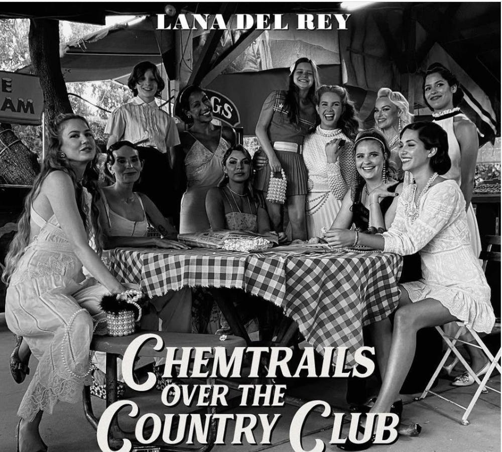 Album Review: Lana Del Rey channels Americana folk roots on 'Chemtrails Over The Country Club'