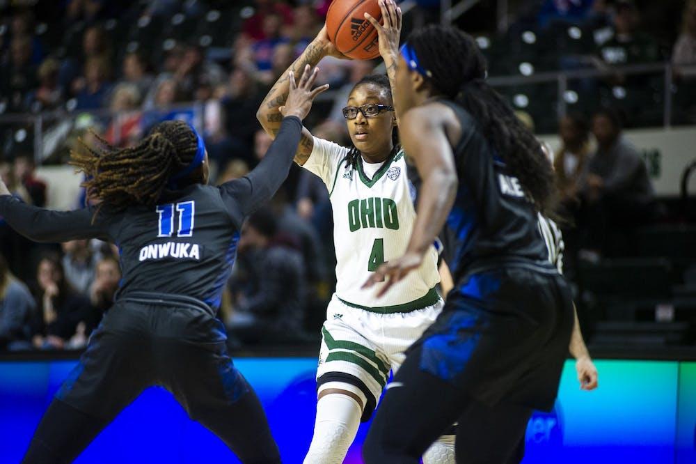 Women's Basketball: Erica Johnson rises to lead Ohio past Western Michigan in MAC quarterfinals