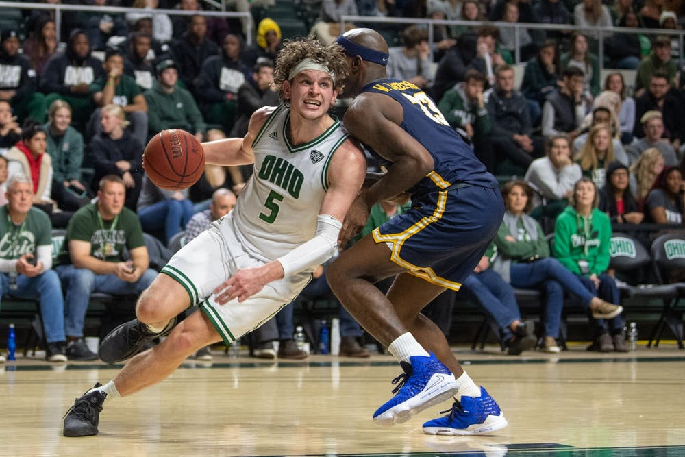 Men's Basketball: Ohio suffers fourth MAC loss in 83-74 defeat to Toledo