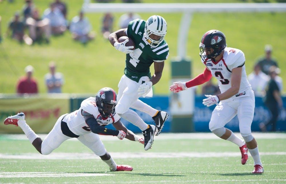 Football: Bobcats win but running back woes grow