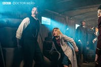 'Doctor Who' travels back in time during Sunday's episode. (Photo provided via @bbcdoctorwho on Twitter)