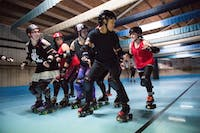 Ohio University's LGBT Center will host a Dine-n-Discuss session that will be focusing on female LGBTQ+ individuals in athletics. Some members of the Appalachian Hell Betties, a roller derby team based in Athens and pictured above, will be in attendance as well. (FILE)
