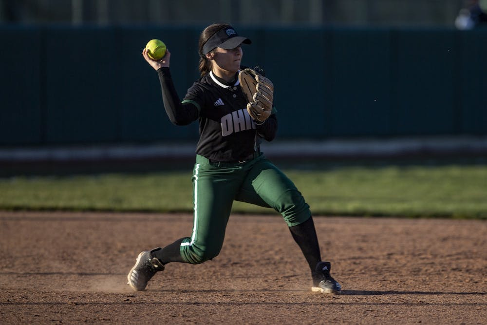 Softball: Ohio breaks even at THE Spring Games