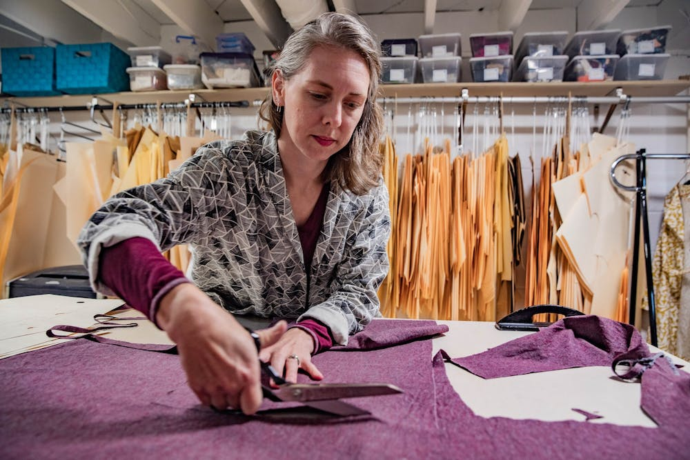 Local business practices sustainable fashion