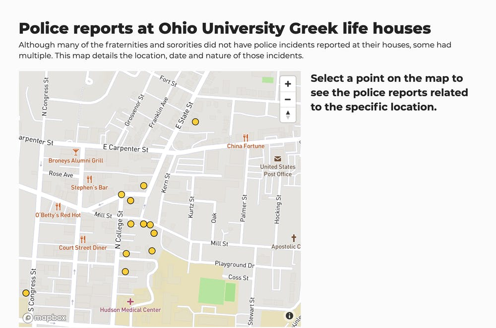 APD reports at Greek life houses range from assaults to stolen cushions