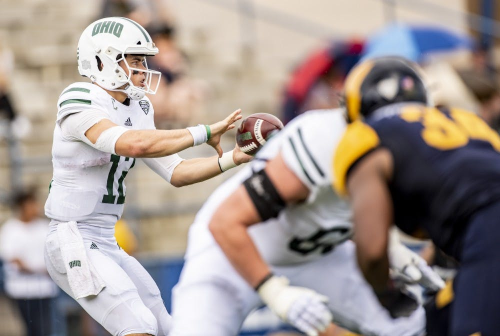 Football: Bobcats come back to stun Kent State 27-26