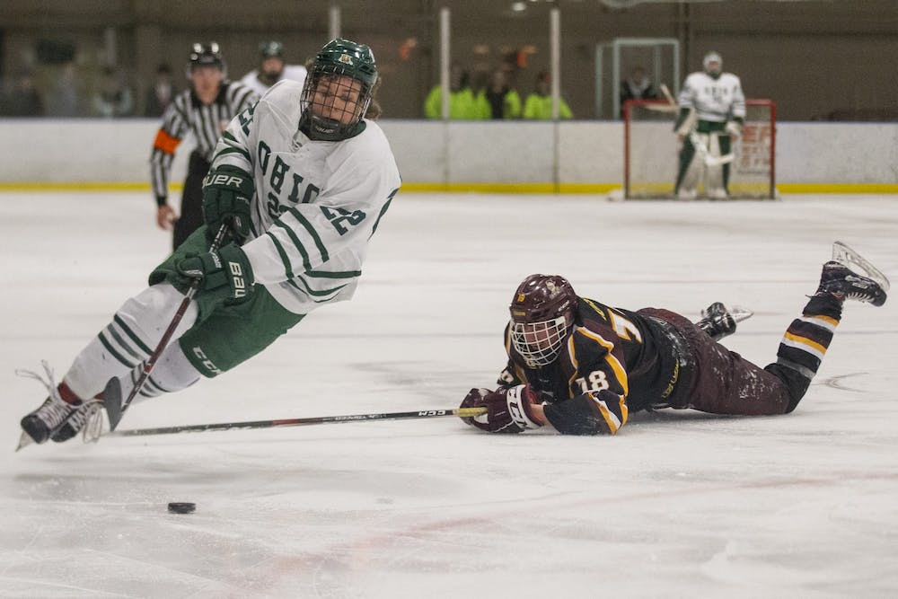 Hockey: Ohio readies for strong finish to regular season