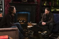 Sam and Dean deal with loss during Thursday's episode of 'Supernatural.' (Photo via @warnerbrostv on Twitter)