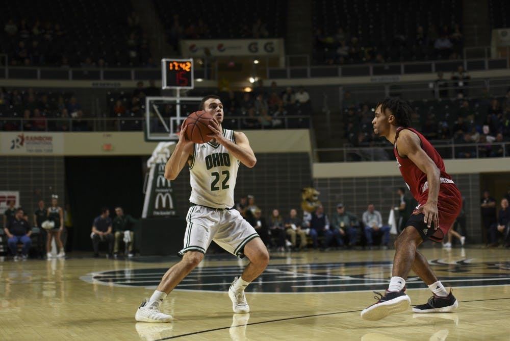 Men's Basketball: Ohio falls to NIU in first round of MAC Tournament