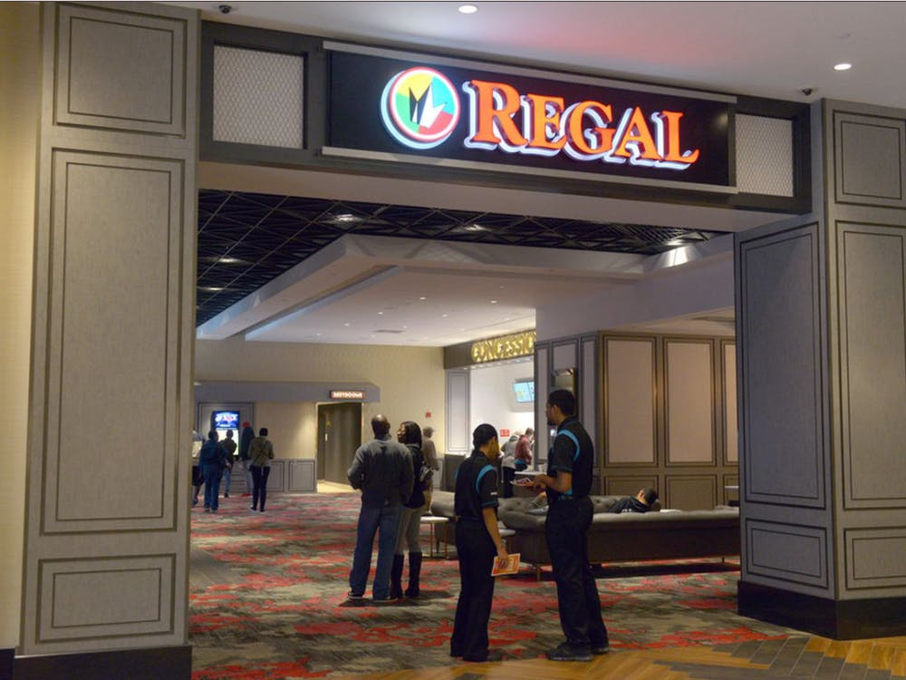 After the new 'James Bond' movie was delayed further, Regal Cinemas is considering closing movie theaters in the U.S. (Photo provided via @njdotcom on Instagram)