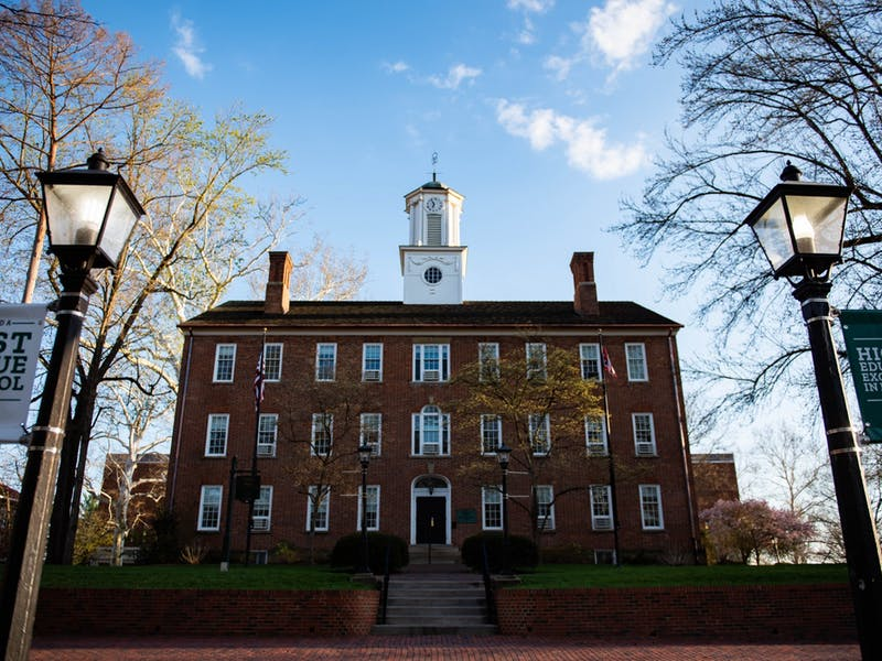 Cutler Hall on Ohio University's campus in Athens, Ohio. (FILE)