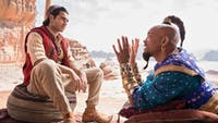 Disney's live-action 'Aladdin' stays true to the original all while making a name for itself. (Photo via @THR on Twitter)
