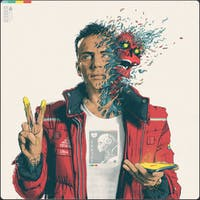 Logic's 'Confessions of a Dangerous Mind' is the rapper's third full-length in nine months. (Photo via @Logic301 on Twitter)