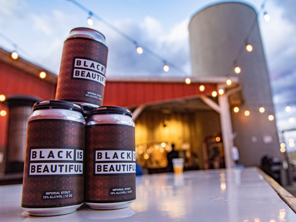 Jackie O's new beer, Black is Beautiful, dedicates one-hundred percent of its proceeds to the Mt. Zion Church Preservation Society and the Bail Project.