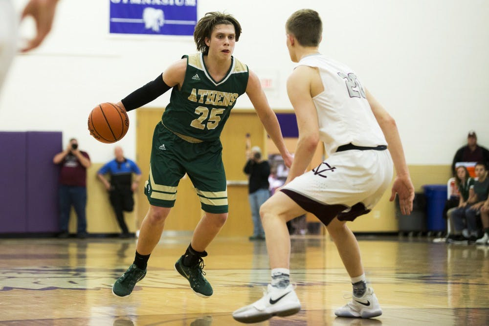 Athens Basketball: Athens staves off late Chesapeake comeback to capture its second victory